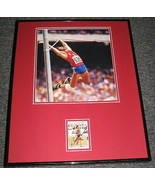 Caitlyn Bruce Jenner 1976 Olympics Signed Framed 16x20 Photo Display  - $65.09