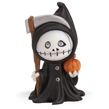 Lenox Grover The Grim Reaper Figurine Halloween Spooky Town Decoration NEW - $38.61