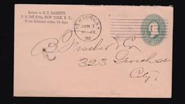 B.T. BABBIT NEW YORK, NY JUNE 3 1890 SOAP POWDER - $2.68