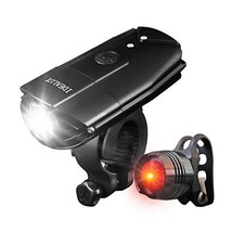 IDEALUX LED Bicycle Lights - 1000 Lumens Super Bright LED Front and Back... - $20.02