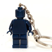 Limited Supplies Color Dark Blue Custom Made Keychain Ring Lego Toys Mi... - $4.99