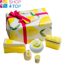 Lemon Aid Gift Pack Bomb Cosmetics Lemon Meringue Lime Handmade Natural New - $17.86