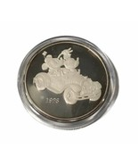 Mickey & Minnie Mouse Disney Studios   5oz .999 Pure Fine Silver Round  ... - $385.11