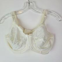 Lilyette Womens Lace Ivory Bra Minimizer Size 36D 03194J EUC - $29.68