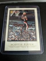 1999-00 Topps Gallery Portland Trail Blazers Chicago Bulls #30 Scottie P... - $9.99