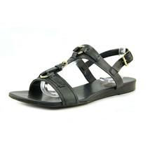 Franco Sarto Gili Open-Toe Leather Slingback Sandal Black, Size 6.5 M - $49.49