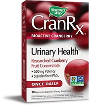 Nature's Way Cran RxBioActive, Cranberry, 30 Vcaps Pack of 2 - $39.33