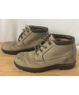 Women's 7.5 M Timberland Nellie Chukka Gray Leather Suede Boots Waterpro... - $32.71