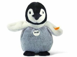 Steiff Flaps Baby Penguin Stuffed Animal With Soft Woven Fur Plush Toy - $35.41