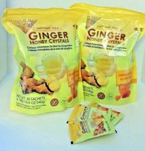 2 BAGS Ginger Honey Crystals Instant Tea by Prince of Peace 30 sachets x2 = 60 - $28.69