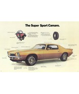 1972 Camaro SS Ad | 24X36 inch poster | Great looking! - $21.77