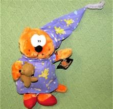 "Vintage HEATHCLIFF CAT 1999 Nanco 10"" Plush Stuffed Animal + TAG Orange ... - $14.85"