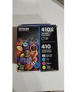 Epson 410XL Black & Standard Photo Black and C/M/Y Color Ink Cartridges ... - $59.99