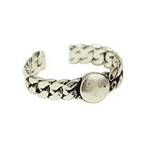 Opening Ring Accessories Retro Fashion Ring Silver Ring Simple Tail Ring image 2