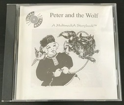 Peter and the Wolf - A Multimedia Storybook - Ebook, UltraMedia 1991 199... - $95.79
