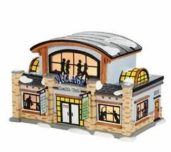 "Dept. 56 Snow Village ""Village Health Club""  #4036568  NIB - $70.13"