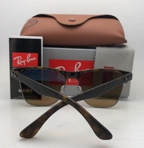 New RAY-BAN Sunglasses RB 3546 9009/85 52-20 Brown & Gold Frame w/Brown Gradient - $179.95