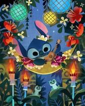 Disney Wonderground Gallery Stitch Art Postcard, NEW - $11.50