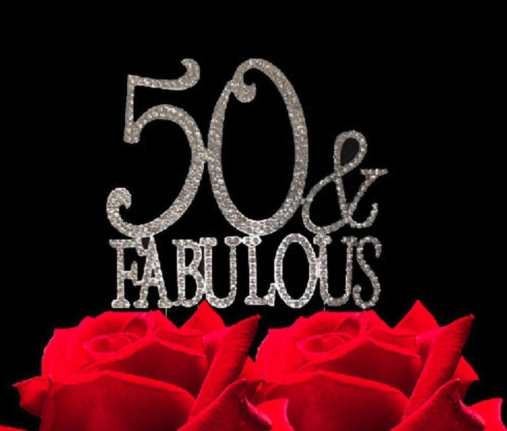 50 And Fabulous Crystal Cake Toppers Bling And 49 Similar Items