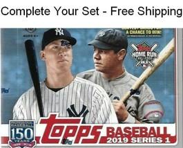 2019 Topps Series 1 Baseball Singles 175-350 Complete Your Set - Free Sh... - $0.98+