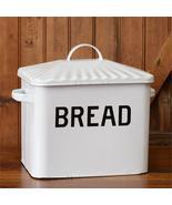 Vintage Style Enamel Bread Box - $74.99