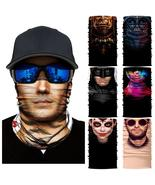 3D Marvel Headband Neck Gaiter Warcraft Superman Batman Magic Scarfs Win... - $28.72