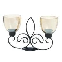 Fleur De Lis Dual Candleholder - $43.33