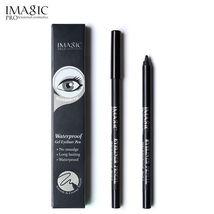 IMAGIC® Black Eyeliner Pen Pencil Makeup Beauty Cosmetic Tool + Pencil S... - $4.76
