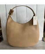 Jimmy Choo Stevie Leather Shoulder Bag - Nude - $829.00
