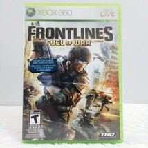 Frontlines Fuel of War Microsoft Xbox 360 2008 LOOK Free Same Day Shipping - $9.47