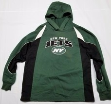 Reebok NFL Football Youth Boys New York Jets Sweatshirt Hoodie Green Size Medium - $19.99