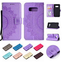 Retro Leather Wallet Case Card Flip Cover For Samsung Note 9/S10e/S10+ S9/S8 S7 - $64.56