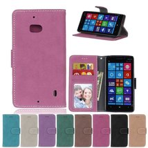 Lumia 930 Case,XYX [Rose][Scrub Series] PU Leather Flip Folio Kickstand ... - $4.94
