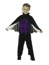 xcb104 VAMPIRE Halloween Costume Toddler 4-6 - $26.13