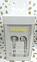 Heyday Bluetooth 5.0 Enabled Wireless Earbuds - dove grey- Sealed New --(Store) image 1