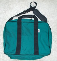 Parrott Canvas Company Pullman Travel Bag Overnighter Suitcase GREEN 14H... - $66.59 CAD
