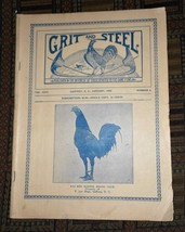 XRARE: Jan. 1923 Grit and Steel Magazine - cock fighting game fowls - $75.00