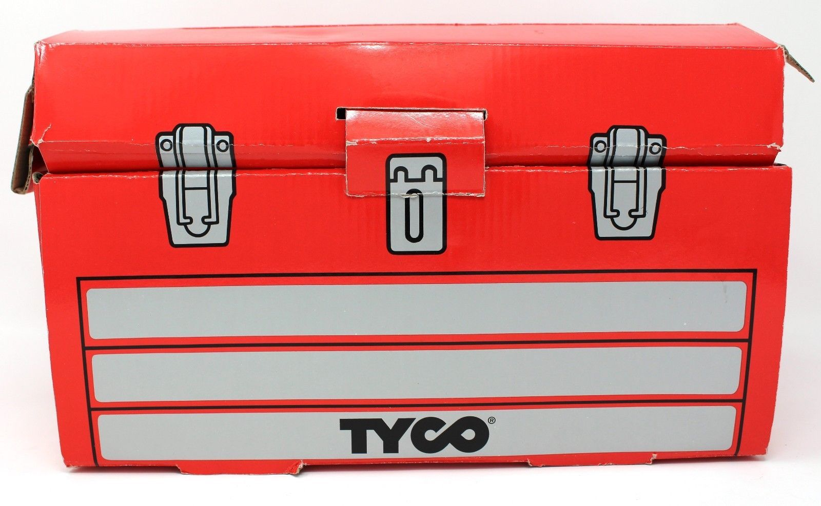 Primary image for 1996 Tyco Toys 50 Piece Super Tool Box Set vintage No 95120