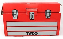 1996 Tyco Toys 50 Piece Super Tool Box Set vintage No 95120 - $35.52