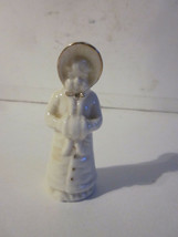 VINTAGE BONE CHINA CRESTWARE DREDGERS OF WHISTABLE SEAL VICTORIAN GIRL F... - $9.99