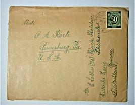 1947 German Cover - Germany to Pensyvania, USA - $9.50