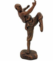 "11.25"" Kungfu Series - Shaolin Monk Statue Sculpture Buddhist Warriors O... - $45.00"