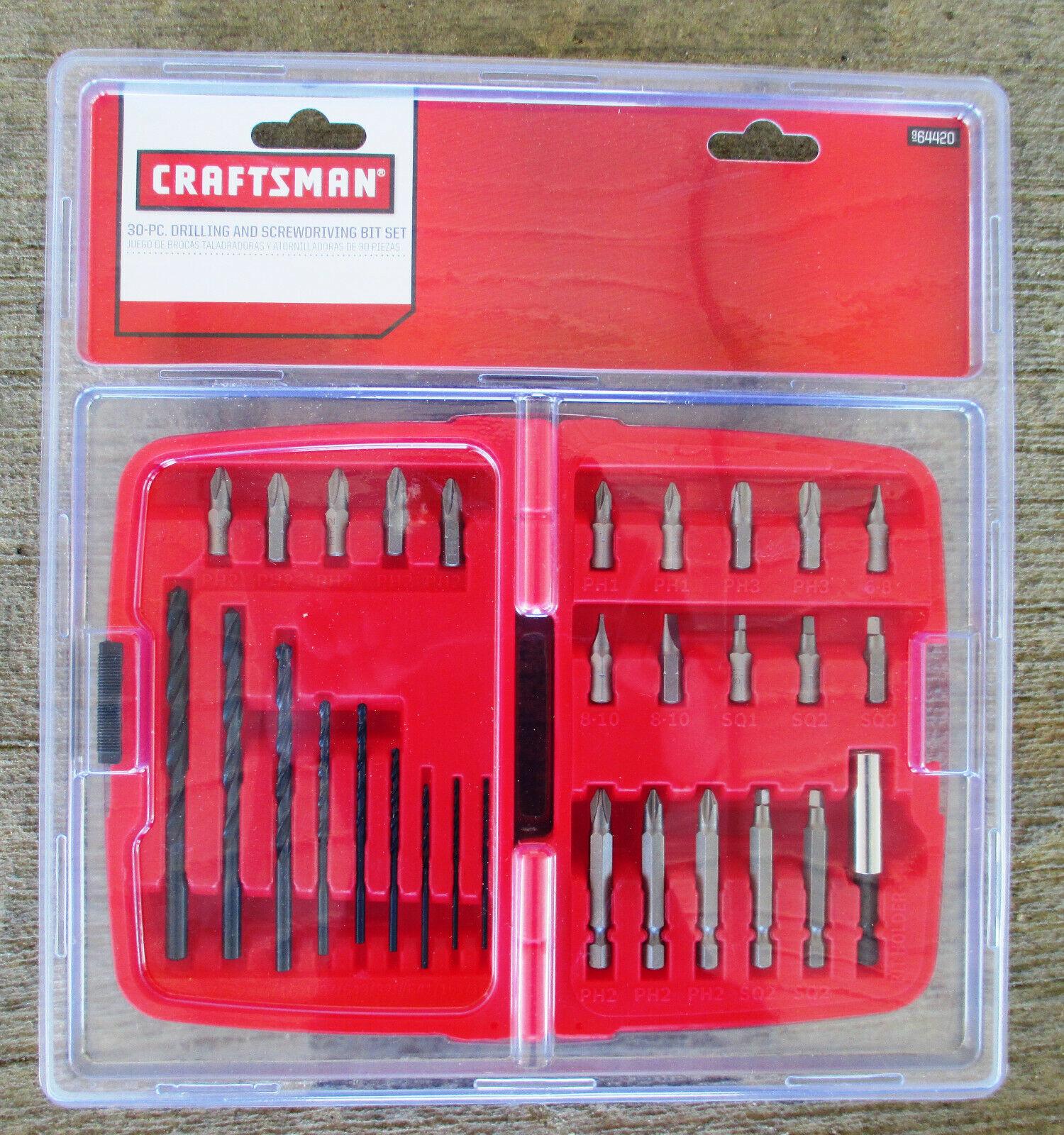 Craftsman 30 Piece Drilling and Screwdriving Bit Set 64420 - $12.20