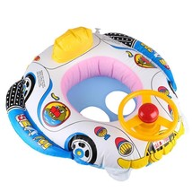 Kids Baby Inflatable Swimming Ring Seat Float Boat Summer Water Float Po... - $20.72