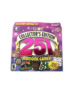 251 Awesome Games Puzzle Word Games PC Games 2003 Collector's Edition New - $14.01
