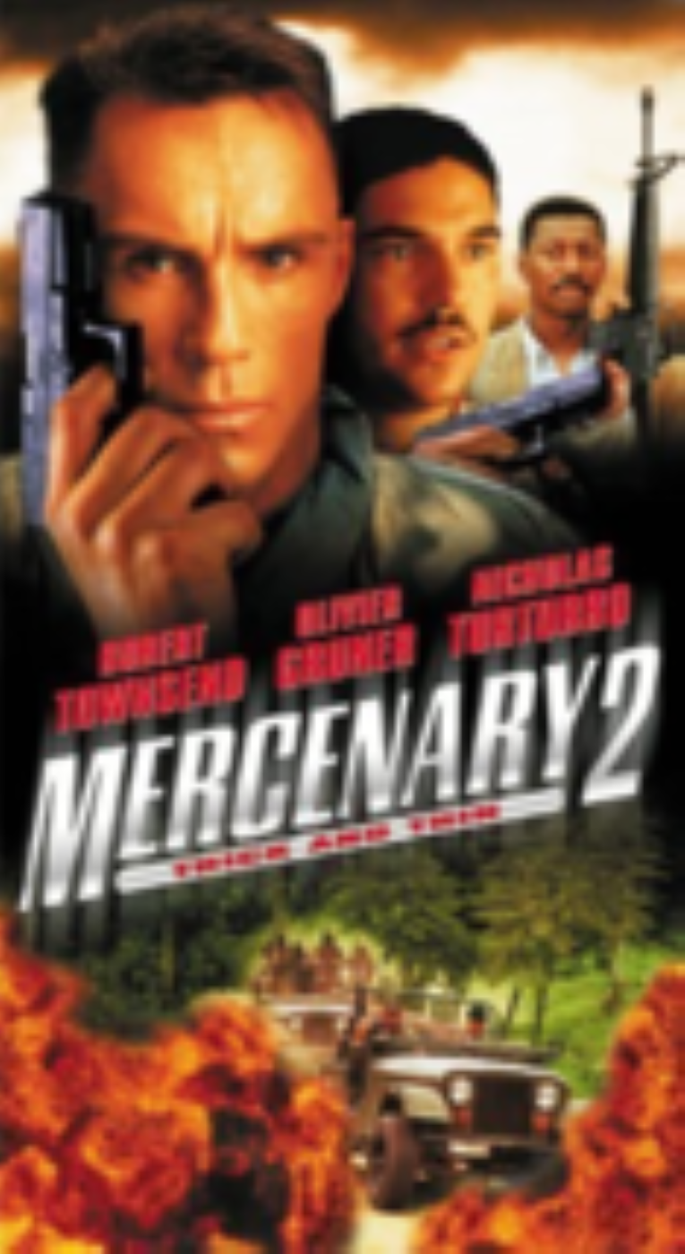 Mercenary 2:Thick & Thin Vhs