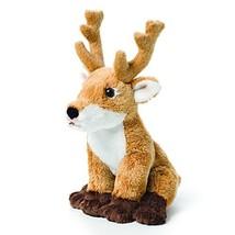 DEMDACO Little Brown Buck Deer Children's Plush Beanbag Stuffed Animal Toy - $16.98