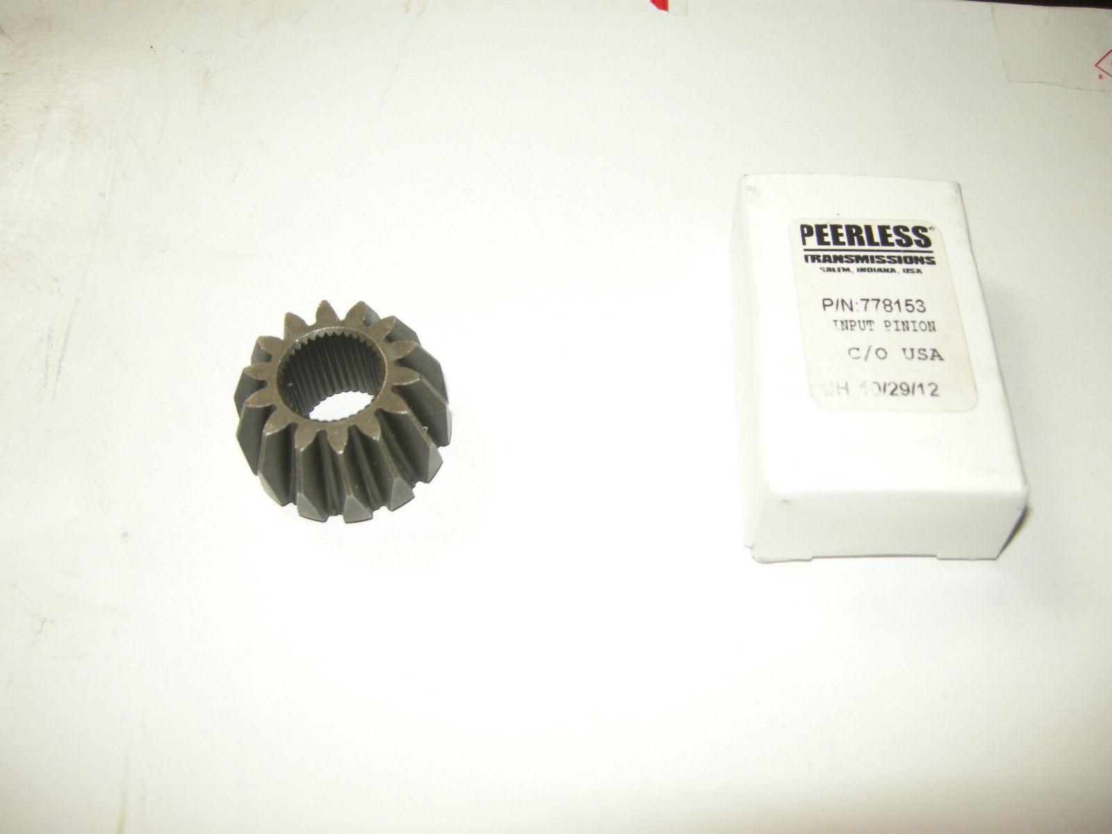 OEM Peerless, Tecumseh Input Pinion Gear 778153 *NEW* OD - $29.99