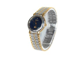 Authentic BURBERRY Navy Blue Dial Stainless Steel Women's Quartz Watch B... - $149.00