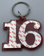 Delta Sigma Theta - Line Number Keychain #16 - £10.75 GBP
